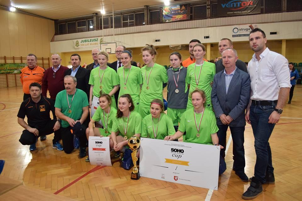Bronowiana Kraków najlepsza  w SOHO Body Spirit Cup o Puchar Burmistrza Dębicy!!!