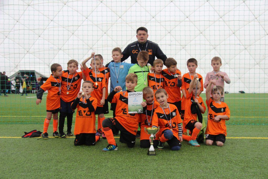Srebrni chłopcy z rocznika 2009 w Elite Cup w Krośnie!!!