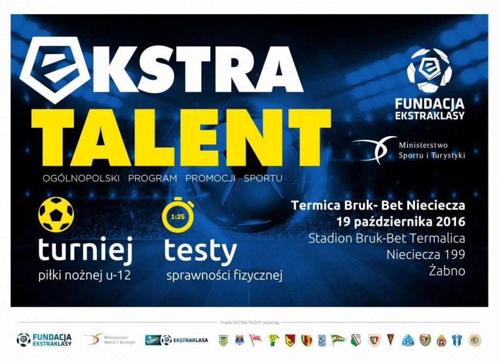 Ekstra talent w Niecieczy – wyjazd na turniej roczników 2005 oraz 2006.