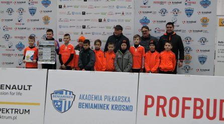 BENIAMINEK KROSNO CUP i wysokie IV miejsce!!!