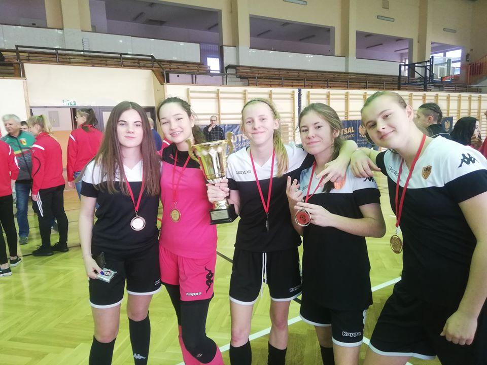 3 miejsce w Turnieju Kwalifikacyjnym do Mistrzostw Polski w Futsalu Kobiet