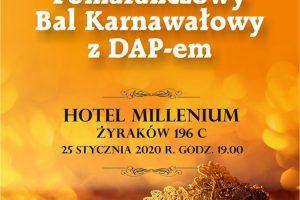 VII Pomarańczowy Bal Karnawałowy DAPu!!