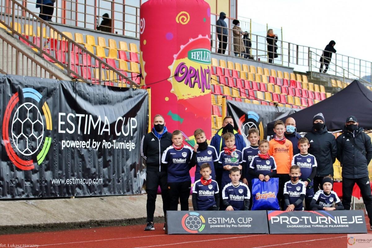 Debiut w turnieju ESTIMA CUP w Nowej Rudzie wypadł bardzo przyzwoicie