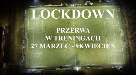 PRZERWA W TRENINGACH!!!